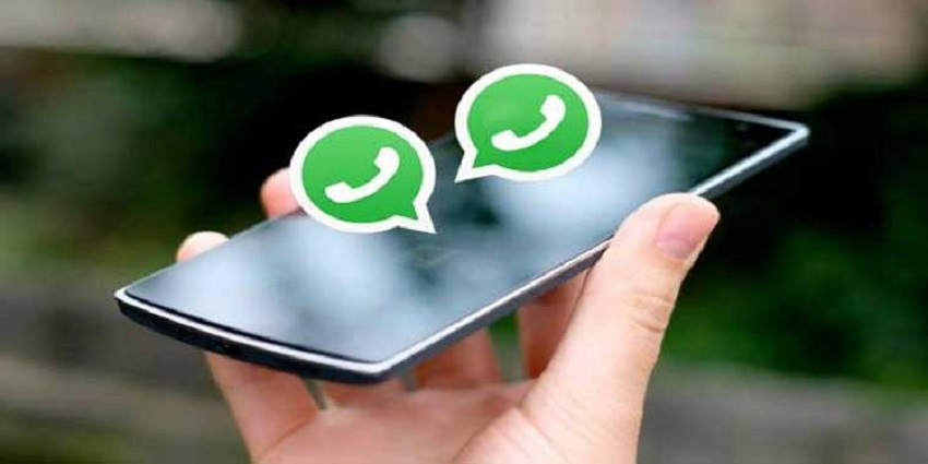 WhatsApp on two phones