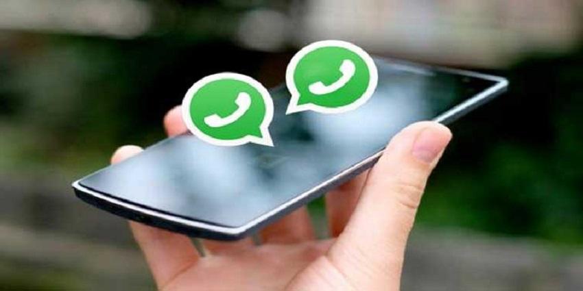 WhatsApp on two phones